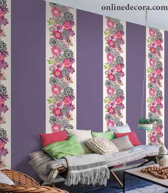 راهنمای خرید کاغذ دیواری گلدار