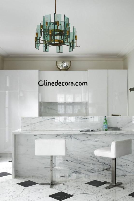 اسباب یکپارچه در طراحی داخلی آشپزخانه 2019