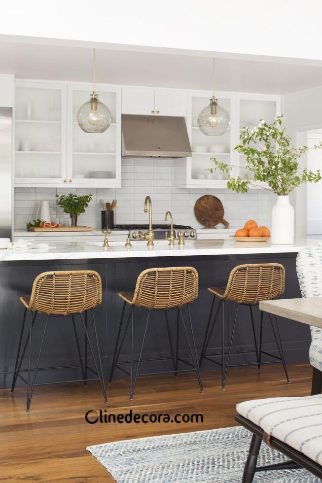 فضای وینتیج در طراحی داخلی آشپزخانه 2019